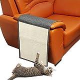 KOBWA Protector de sofá antiarañazos, Estera de arañazo de gato Sofá de...