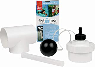 rainwater collection first flush diverter
