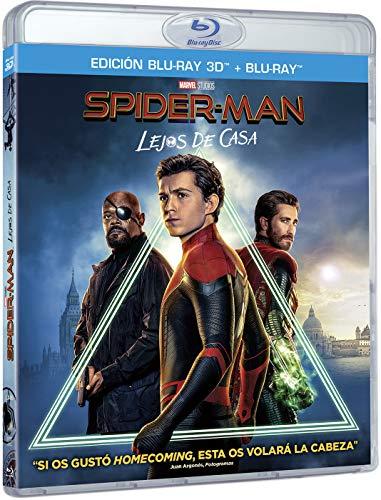 Spider-Man: Lejos de Casa (BD3D+BD) [Blu-ray]