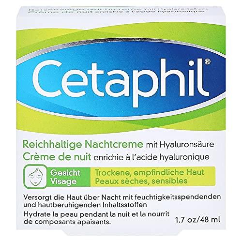 Cetaphil Reichhaltige Nachtcreme mit Hyaluronsäure, 48 g