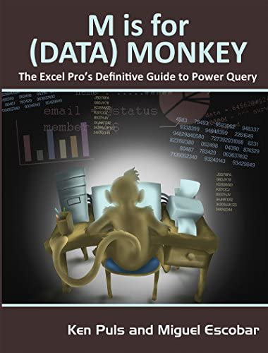 M Is for Data Monkey A Guide to the M Language in Excel Power Query product image