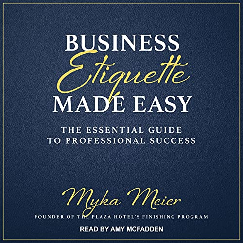 Business Etiquette Made Easy cover art