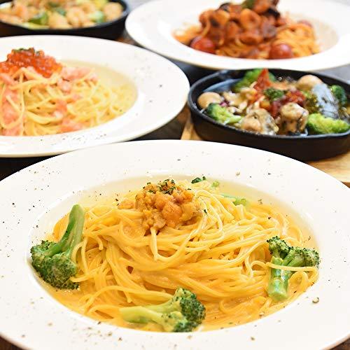 六本木 #uni Seafood パスタソース アヒージョ セット