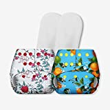 Superbottoms Certified Soft Fleece Lined Pocket Diapers with 2 Wet Free Inserts
