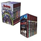 Goosebumps HorrorLand Series & Scream Street 23 Books Box Gift Set Collection...