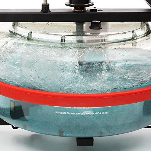 Capital Sports Rowlympic Wasserrudergerät Ruderbank, gleichmäßiges & gelenkschonendes Training, 120 cm Lange Gleitbahn, Wasserwiderstand mit Regulierung durch Wasserfüllstand, Aluminium - 9