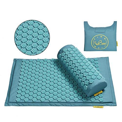TimeBeeWell - Set di tappetini e cuscini ecologici per alleviare il dolore...
