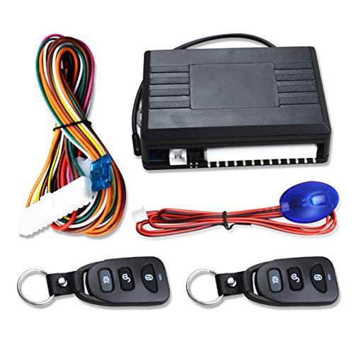 Ashley GAO 12 V coche remoto cerradura de puerta central sistema sin llave de control remoto sistema de alarma de coche de bloqueo central con kit central remoto automático