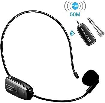 Explore Cordless Headset Microphones For Singing Amazon Com