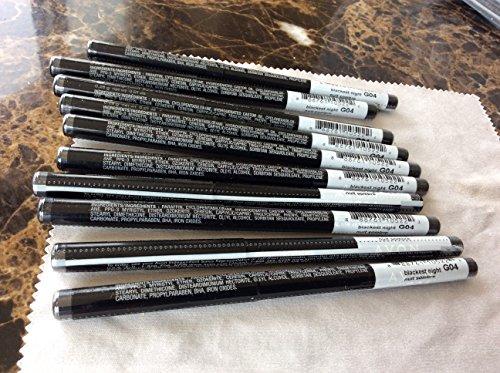 Avon True color Glimmersticks Waterproof Eye Liner BLACKEST NIGHT Lot 10 pcs.