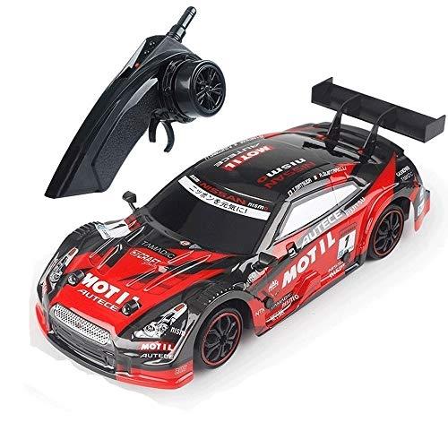 PCARM Recargable 39km / H 4WD Profesional Adultos Deportes Racing Drift 2, 4 GHz de alta velocidad de radio de RC Race control remoto de coches de cuatro ruedas de carga del vehículo RTR metal regalo d