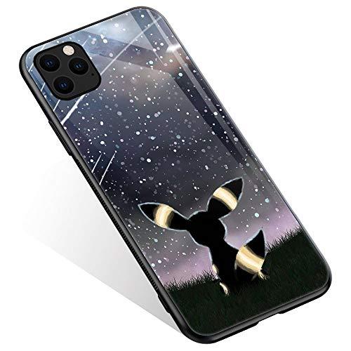 Preisvergleich Produktbild iPhone 12 Pro Max Hülle,  Anime Movie 496 Muster Design iPhone 12 Pro Max Hüllen,  Rückseite aus gehärtetem Glas + weiches Silikon TPU Stoßdämpfung Bumper Schutzhülle kompatibel für iPhone 12 Pro Max