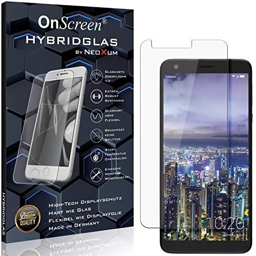 OnScreen Schutzfolie Panzerglas kompatibel mit Sharp Aquos B10 Panzer-Glas-Folie = biegsames HYBRIDGLAS, Bildschirmschutzfolie, splitterfrei, MATT, Anti-Reflex - entspiegelnd