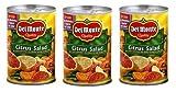 Del Monte Citrus Salad with Grapefruit & Orange (Pack of 3) 15 oz Cans