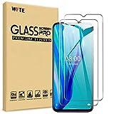 WFTE [2-Pack] Protector de Pantalla para Ulefone Note 9P,9H Dureza,Huellas Dactilares Libre,Sin Burbujas,Cristal Templado Ulefone Note 9P