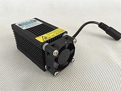 T-king(TM) 12V Adjustable Focal Blue-Violet Industrial Engraving Laser Module