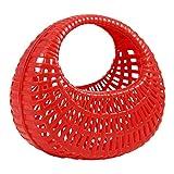DDR Plastikkörbchen Plastikkorb rot, Spielzeugkörbchen, Kunststoffkörbchen, Einkaufskörbchen, Kinderkorb