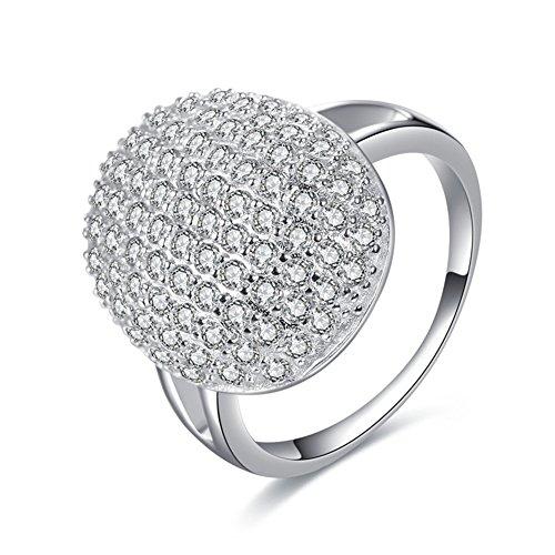 LUREME Twilight Eclipse Bellas Engagement Ring Prop Replica (rg001818-1) Ring Size 6