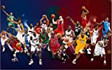 Foto Personalizada 3d Papel Tapiz Baloncesto Kobe Star Cavaliers Warriors James...