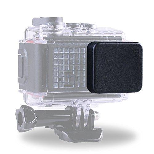 Andoer Protective Objektivdeckel Deckel Gehäuseschutzfolie für den Garmin Virb Ultra-30-Sport-Kamera und Standard-Schützen Gehäuse
