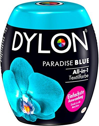 DYLON Paradise Blue All-in-1 Textilfarbe (für frische und intensive Farben) 1 x 350 g