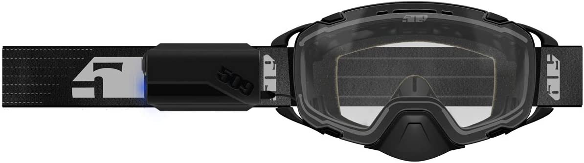 Black with Yellow 509 Aviator 2.0 Ignite Goggle