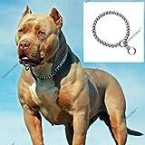 Petlicious & More Dog's Chrome Plated Training Choke Chain Collars