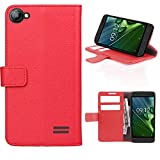 Acer Liquid Z6E Wallet Case (License) with 3 Card Slots