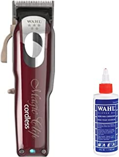 WAHL® Professional 5 Star Magic Clip Cord Cordless Hair Clipper for Barbers and Stylists and home, 6.25 Inch, red, 1 Count