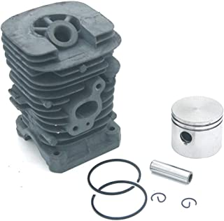 WHHHuan 1Set Cylindre Piston Kit pour McCulloch 333 444 M3414 M3414N M3416 M3816 M4218 Mac 2214AV 2316AV 2416AVT 2618CAV M...