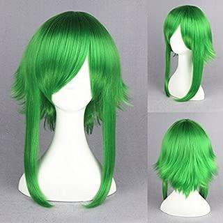 Weeck Long Vocaloid Camellia Gumi Megpoid Green Hair Cosplay Wigs