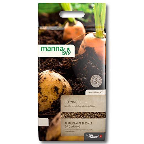 Hauert Manna® Bio Hornmehl 2,5 kg Engrais organique pour légumes fruits