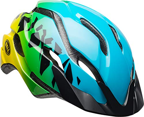 BELL Revolution MIPS Child Bike Helmet, Blue/Green (7106832)