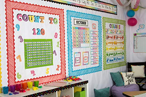 """Teacher Created Resources 2686 Scribble Bold Block 4"""" Letters Combo Pack Photo #7"""