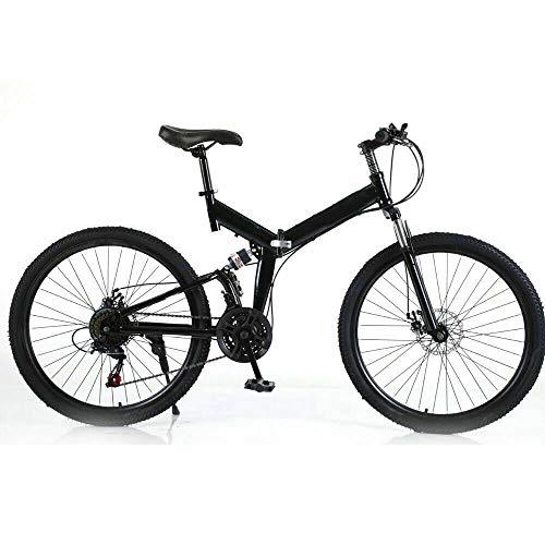 OUKANING 26'MTB Bicicletta Giovani Mountain Bike Ragazzi Ragazze Pieghevole Downhill Mountain Bike