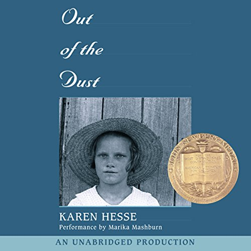 Out of the Dust audiobook cover art