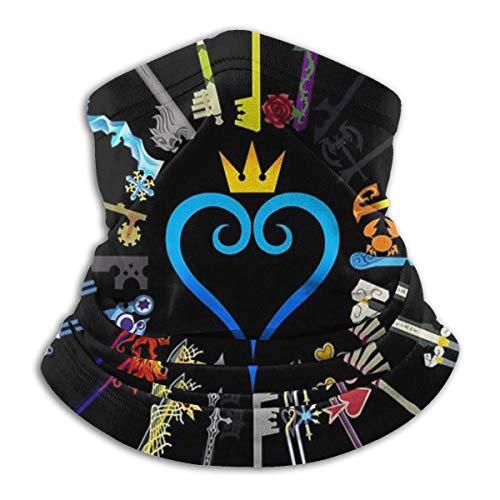 asdew987 Kingdom Hearts Keyblades - Polaina para el cuello, sombrero, máscara solar, bufanda mágica, bandana, pasamontañas, diadema para deportes