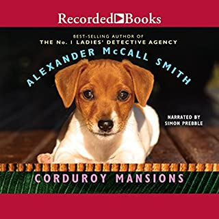 Corduroy Mansions audiobook cover art