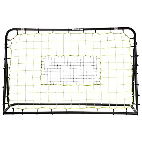 Franklin Sports Soccer Rebound Net - Training Soccer Net - Perfect For Backyard Soccer Practice - Portable 6'x4' Net With Steel Frame - Black