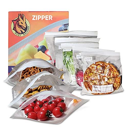 Bolsas congelador mantiene los alimentos frescos hasta 2 veces más ALL purpose Adobo a la parrilla bolsas sin BPA Conservación de Alimentos y Sous Vide Cocina & Boilable 30 Bolsas L