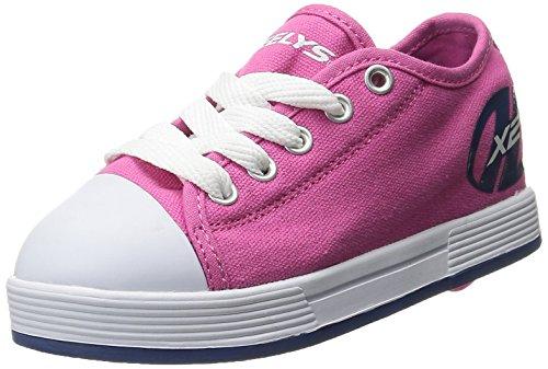 Heelys X2, Zapatillas para Niñas, Rosa (Fuchsia/Navy), 32 EU