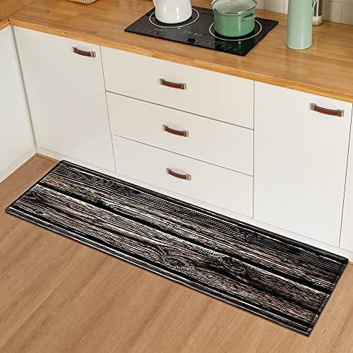 Grano di legno tappetini ingresso stuoie corridoio pavimento decorazione camera tappeti bagno antiscivolo assorbente tappeti NO.22 40X120cm