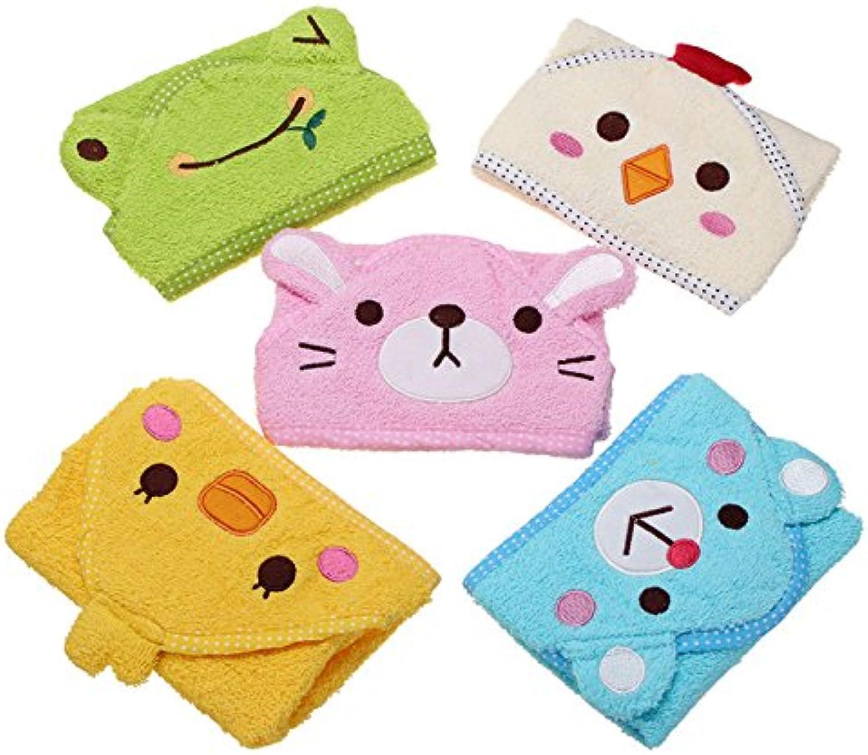 Isali Pets Dog Cat Puppy Doggy Towel Cute Bathrobe Cartoon Absorbent Pet Bath Towel Blanket  (color  Pink, Size  S)  Dog Grooming