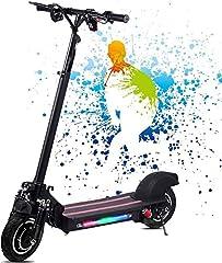 Opvouwbare elektrische scooter voor volwassenen E scooter - vermogen 1200 W - 48 W / 22 Ah - topsnelheid 50 km/H e-scooter - CE gecertificeerd (perfecte vervanging voor bus en metro)*