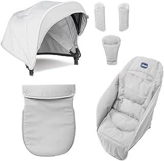 Chicco Color Pack Special Edition - Kit de accessorios para silla de paseo color carbón