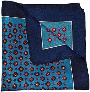 The Blue League Silk Pocket Square