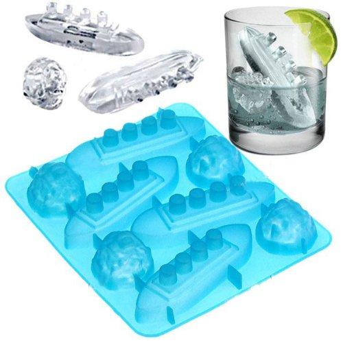 Ergonflow Titanic Shape Ice Tray