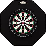 Dart-Stop 29 inch Black Octagon Pro Dart Board Backboard | Wall Protector | Dartboard Surround