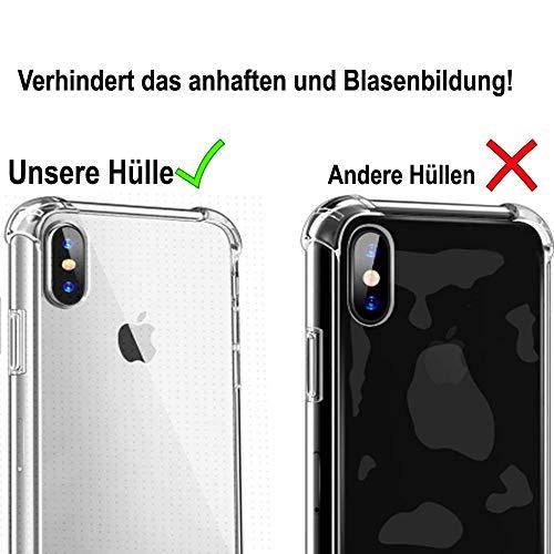 ff-mobile HANDYKETTE kompatibel mit Huawei Y7 2018 - Smartphone Necklace Hülle mit Band - Schnur mit Case zum umhängen in Schwarz - 3