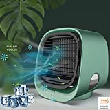 Portable Personal Air Conditioner for Room - 3speed Mini air conditioner, small fan, personal fan, portable desk fan,USB portable fan,Humidifier for small room,office,bedroom,camping accessories